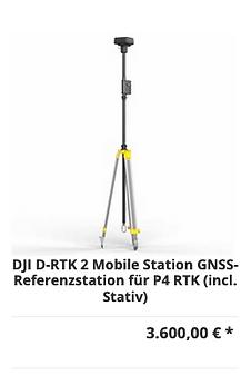 DJI D-RTK 2 Mobile Station GNSS-Referenz