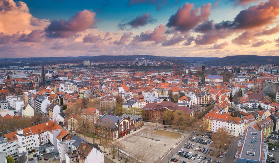 Luftaufnahme Saarland