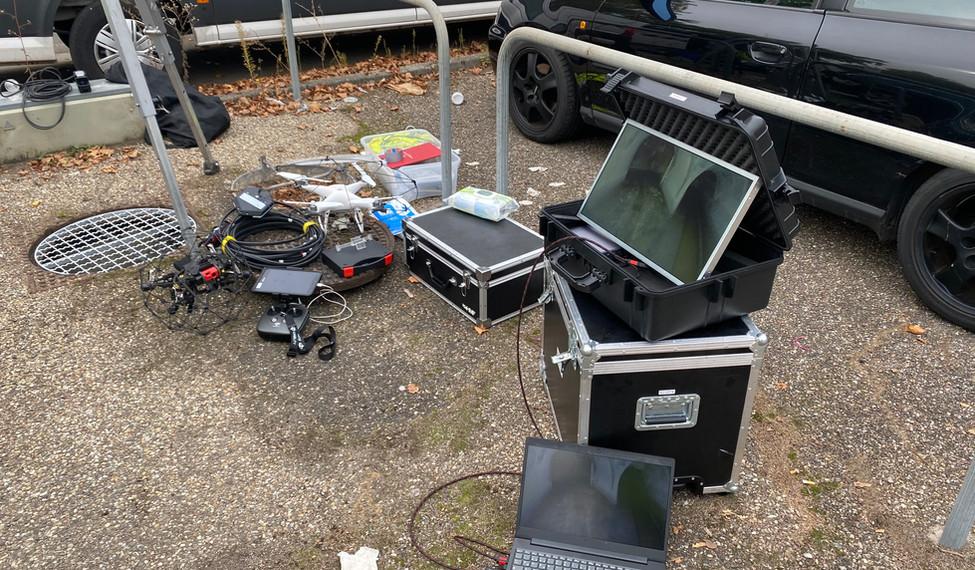 Drohneninspektion in Stuttgart