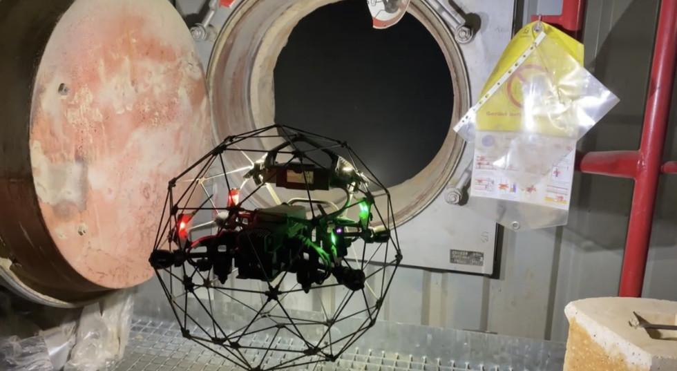 Industrielle Inspektion mit Drohnen