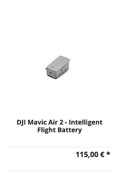 DJI Mavic Air 2 - Intelligent Flight Bat