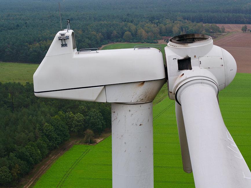 Drohneninspektion für Windkraftanlagen
