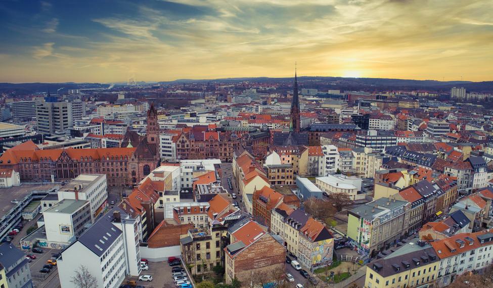 Luftbild Saarbrücken