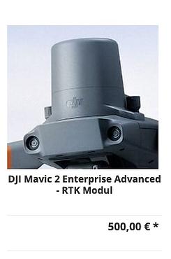 DJI Mavic 2 Enterprise Advanced - RTK Mo