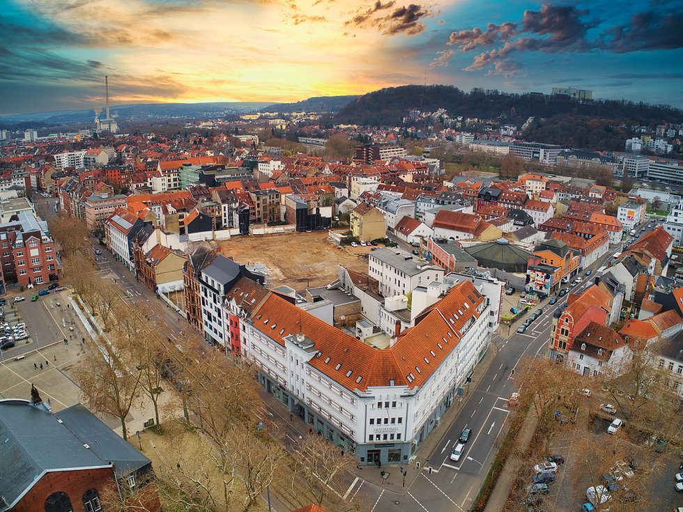 Immobilienfotografie Drohne