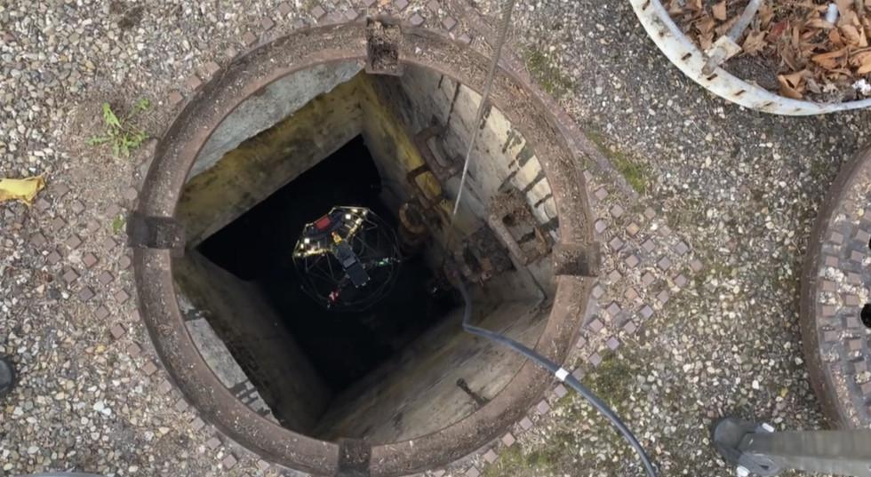 Kanalinspektion SaarDrones