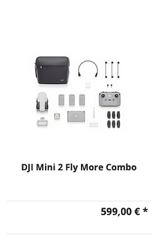 DJI Mini 2 Fly More Combo Drohne kaufen