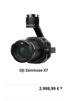 DJI Zenmuse X7