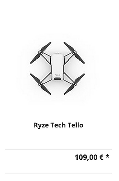 DJI Ryze Tech Tello Drohne kaufen