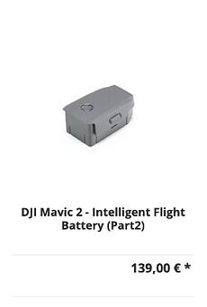 DJI Mavic 2 - Intelligent Flight Battery