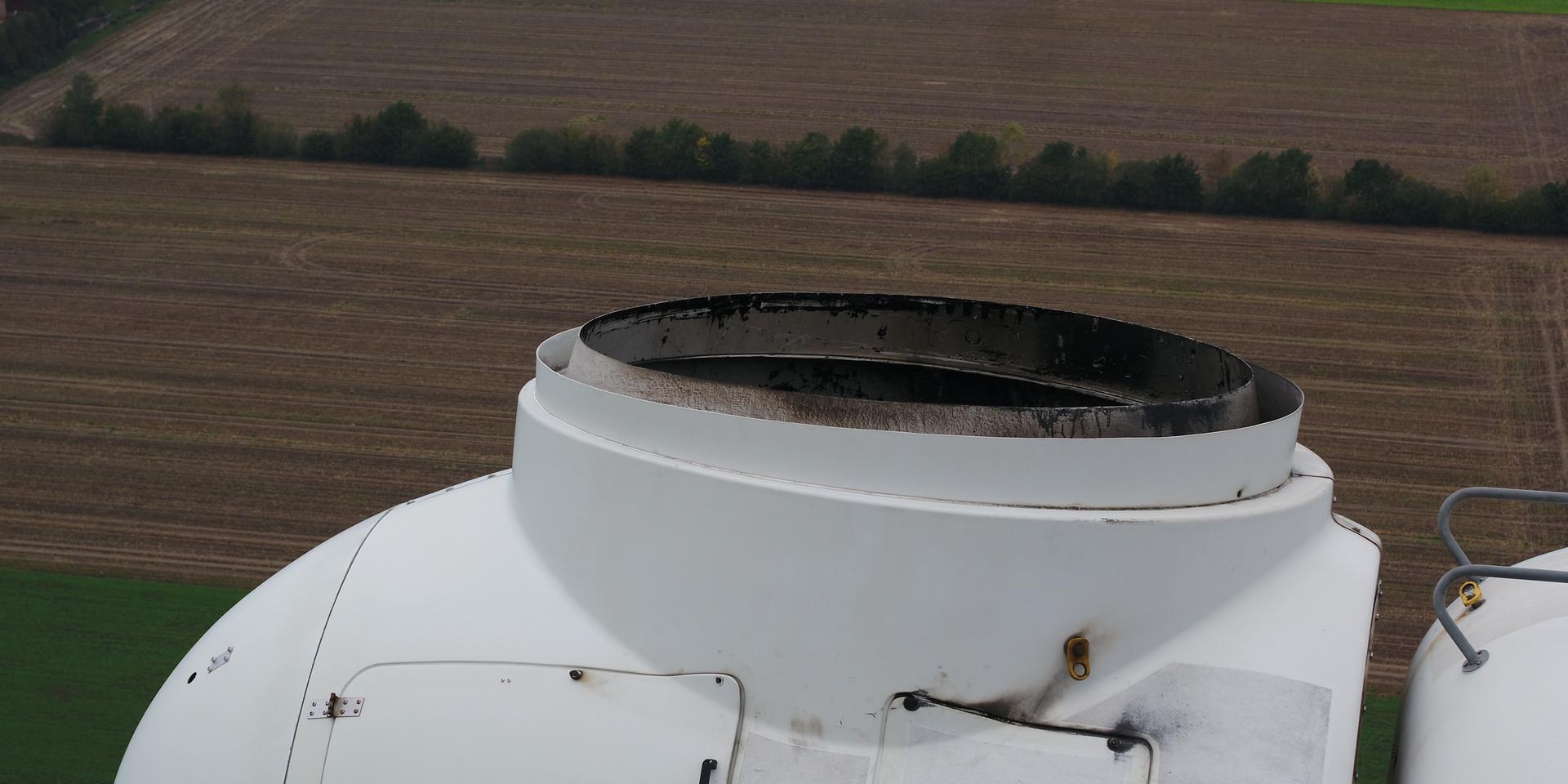 Inspektion von Windkraftanlagen