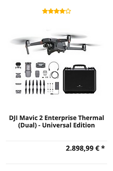 DJI Mavic 2 Enterprise Thermal (Dual) Dr
