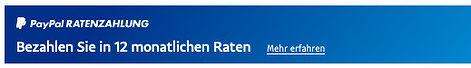 DJI PayPal Ratenzahlung