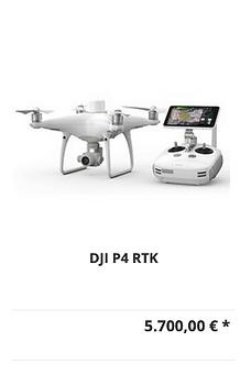 DJI P4 RTK