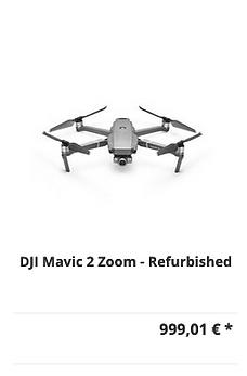 DJI Mavic 2 Zoom (Refurbished) Rabattakt