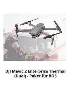 BOS Drohne, Polizei Drohne, Feuerwehr Dr