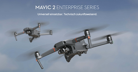 The Mavic 2 Enterprise is DJI's smallest