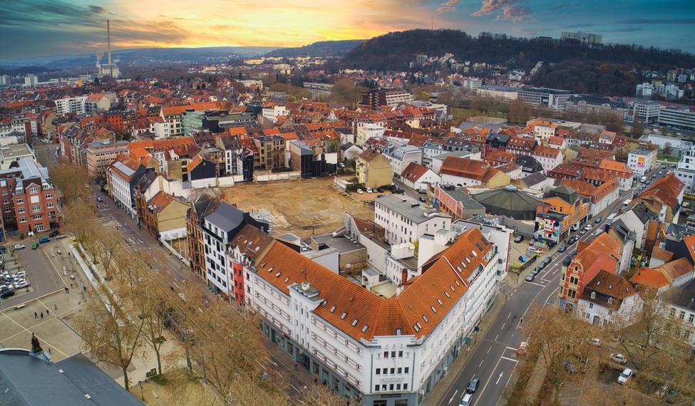 Luftaufnahme Saarbrücken -SaarDrones