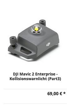 DJI Mavic 2 Enterprise - Kollisionswarnl