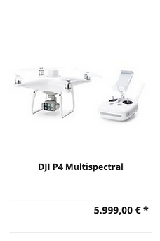 DJI P4 Multispectral