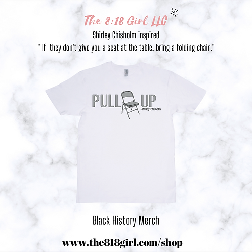 Pull Up T-Shirt White