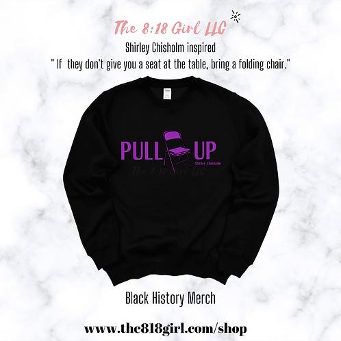 Pull Up Sweatshirts Black