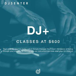 DJ+ Course