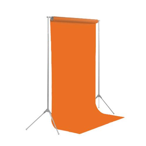 背景紙レギュラーサイズ幅2m70cm長さ11m (152)タンジェリン