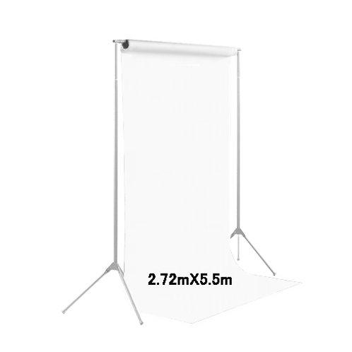 背景紙ロール幅2m70cm長さ5m50cm(129)スーパーホワイト