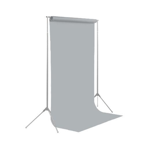 背景紙レギュラーサイズ幅2m70cm長さ11m (150)スチールグレー
