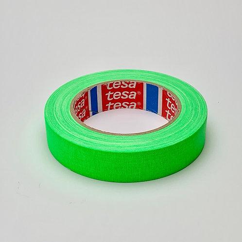 Tesa テサ 蛍光ガッファーテープ蛍光グリーン 25mm x 25m