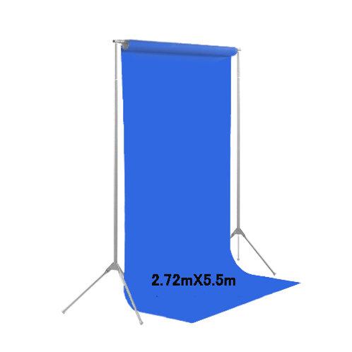背景紙ロール幅2m70cm長さ5m50cm(136)フォトブルー