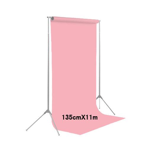 背景紙ハーフサイズ幅1m35cm長さ11m(117)パステルピンク