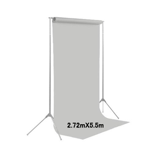 背景紙ロール幅2m70cm長さ5m50cm(102)ブルーグレー
