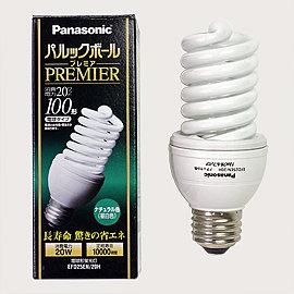 蛍光灯 Panasonic パルックボール 昼白色 EFD25EN/20H