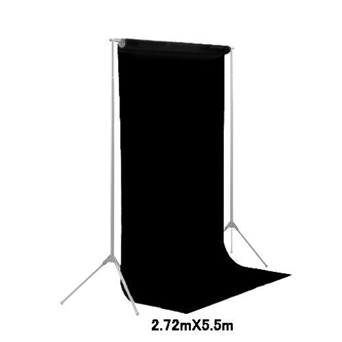 背景紙ロール幅2m70cm長さ5m50cm(101)ブラック