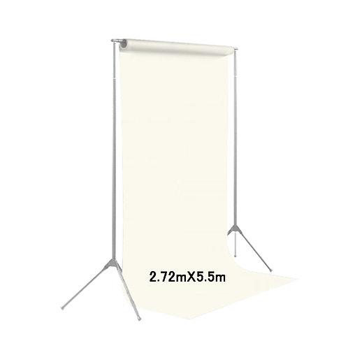 背景紙ロール幅2m70cm長さ5m50cm(134)ホワイト