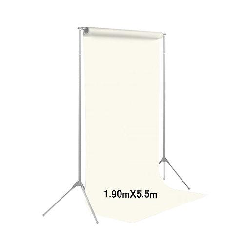 背景紙ミドル 幅1m90cm長さ5m50cm (134)ホワイト