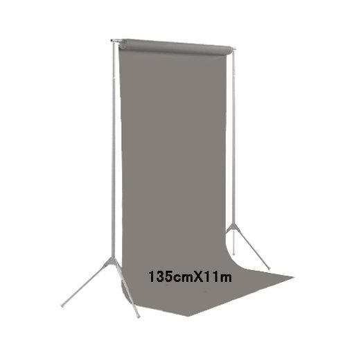 背景紙ハーフサイズ幅1m35cm長さ11m(109)ダブグレー