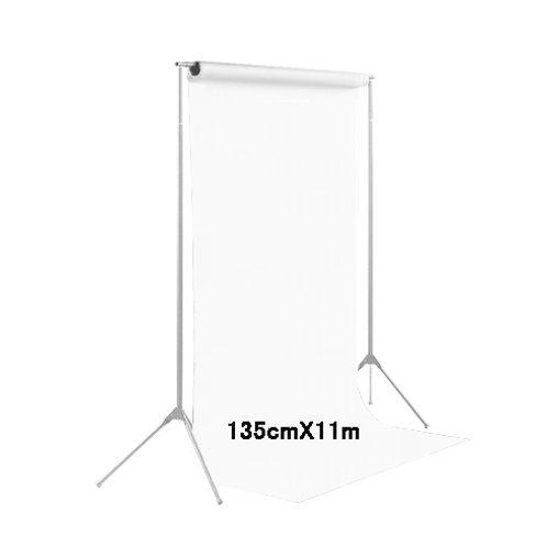 背景紙ハーフサイズ幅1m35cm長さ11m(129)スーパーホワイト
