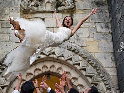 Spanish Monestary Wedding