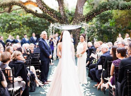 Vintage Wedding | Villa Woodbine Coconut Grove, Florida