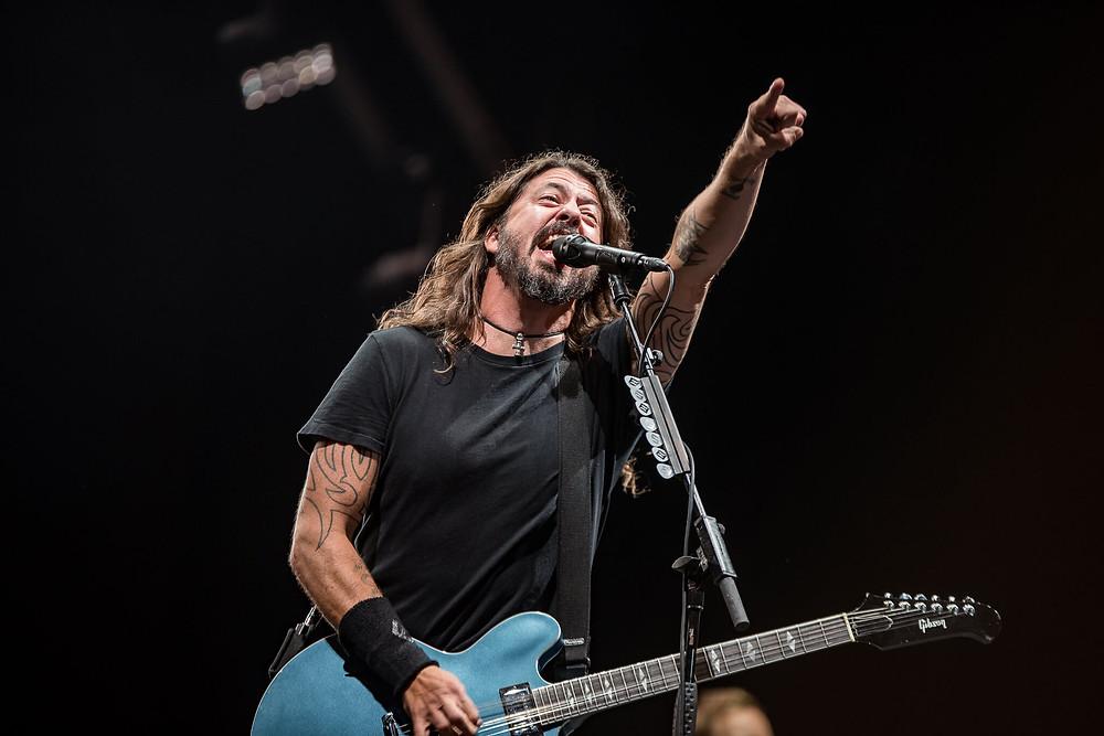 Foo Fighter's Singer/Guitarist Dave Grohl
