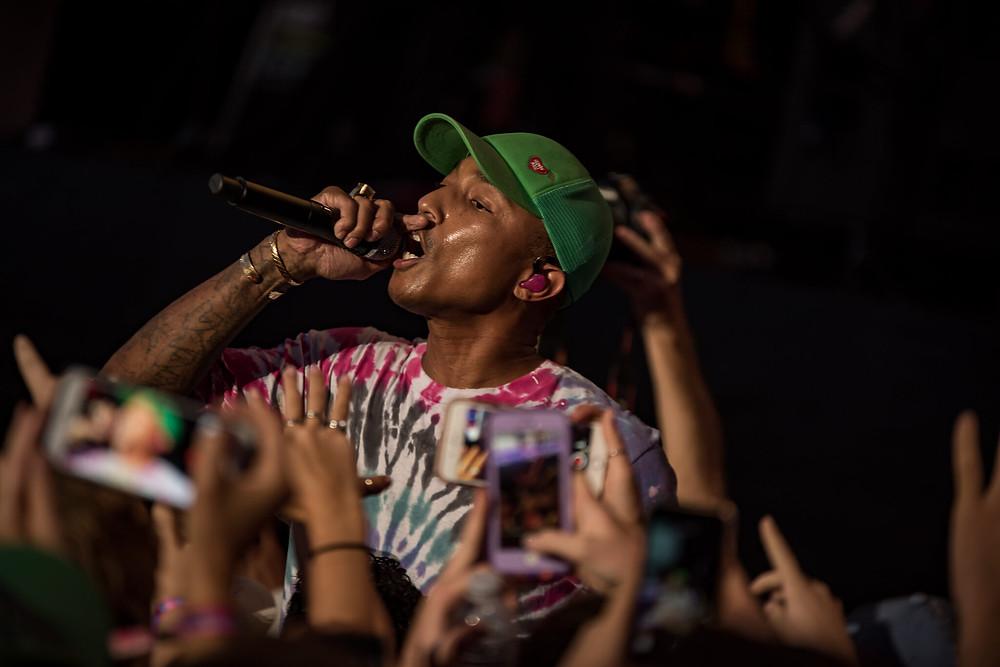 Pharrell Williams in N.E.R.D.