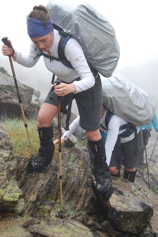 On the Mountains - Chemin Trek