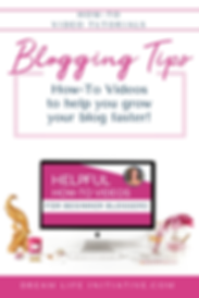 How-To Video Tutorials For Beginner Bloggers