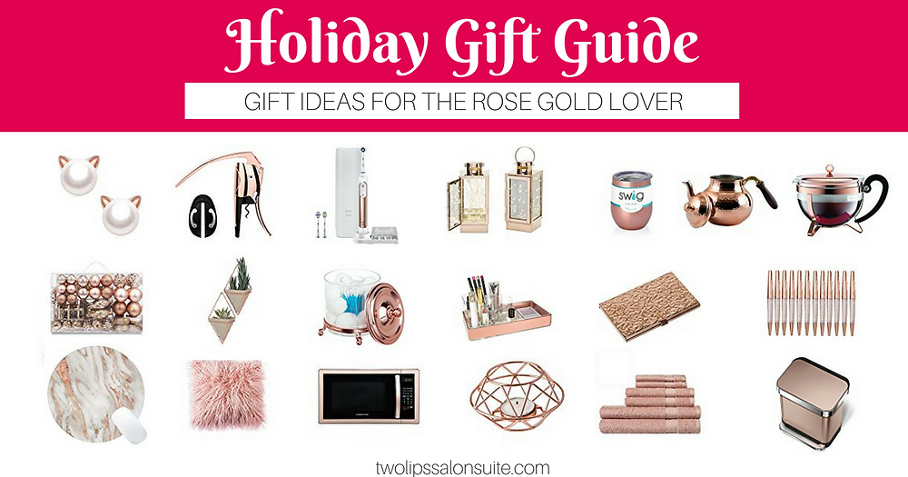Rose Gold Gift Ideas