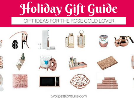 """Gifts for the """"Rose Gold"""" lover"""