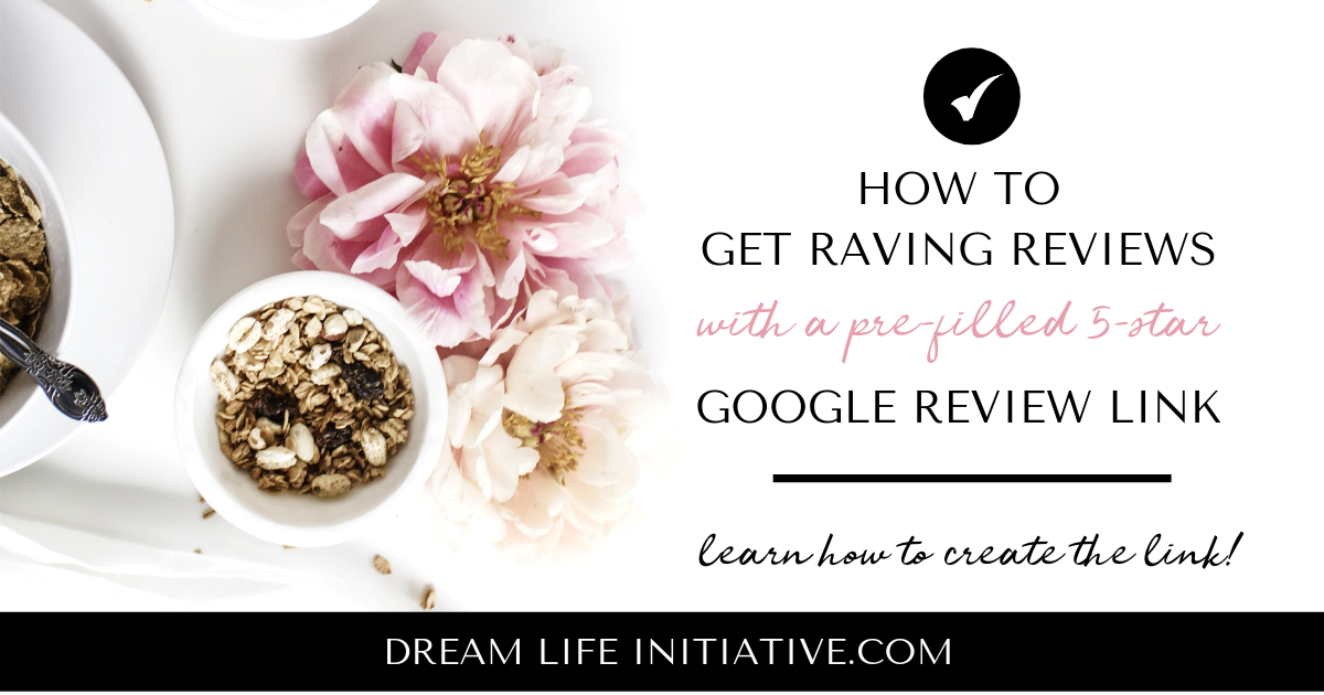 How to create a pre-filled 5-star Google review link for your business