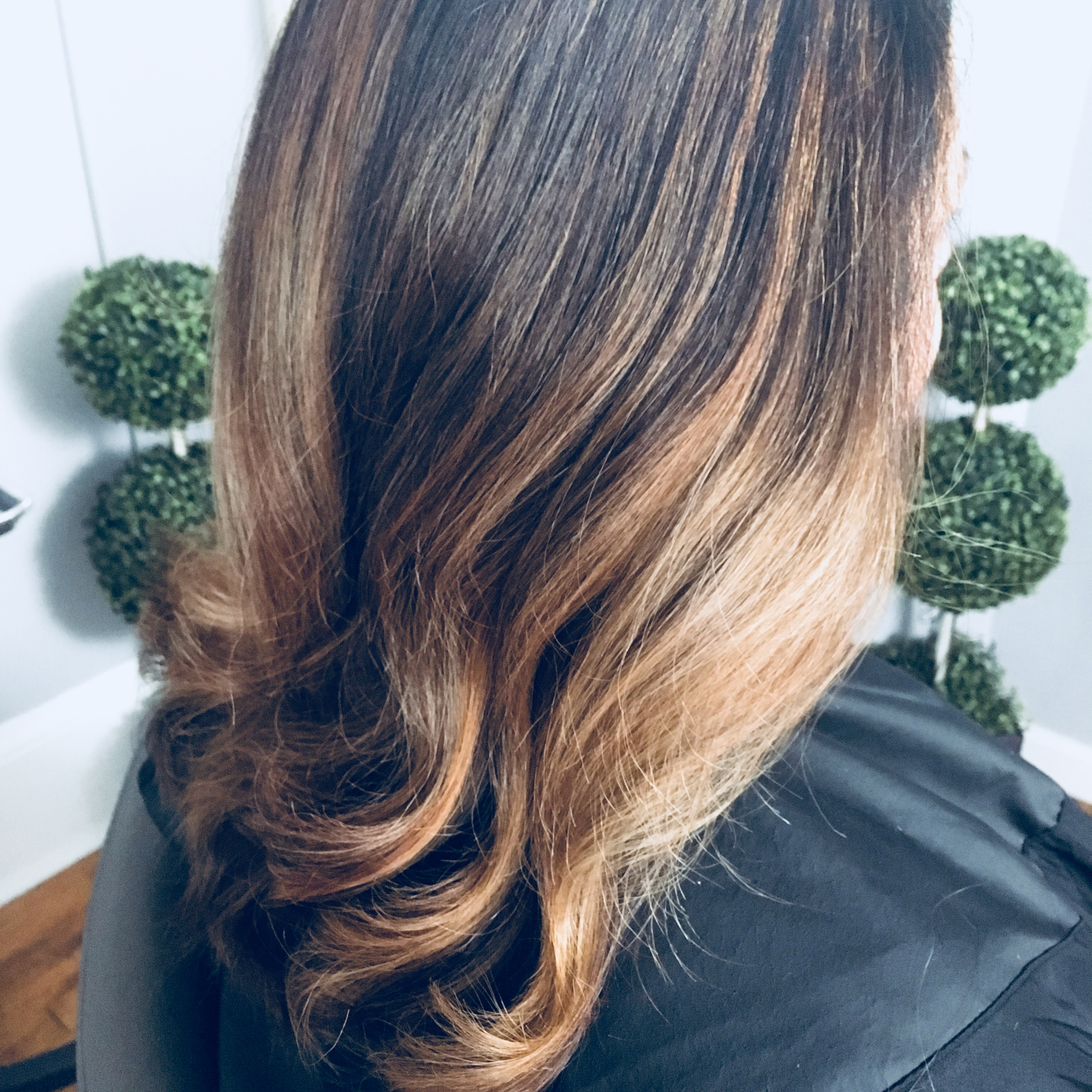 Stretched Root with Balayage